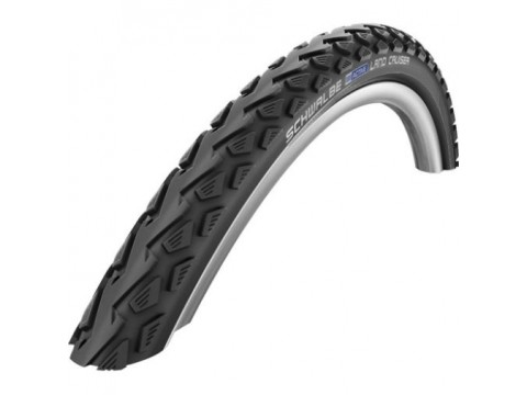 "Padanga 28"" Schwalbe Land Cruiser HS 450, Active Wired 47-622 Black"