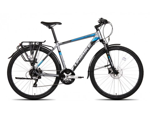 Dviratis UNIBIKE Flash EQ GTS 28 2019 graphite-blue