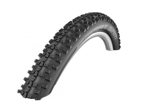 "Padanga 27.5"" Schwalbe Smart Sam HS 476 Perf. Wired 54-584 Black"