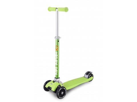 Paspirtukas Kidz Motion Synergy green