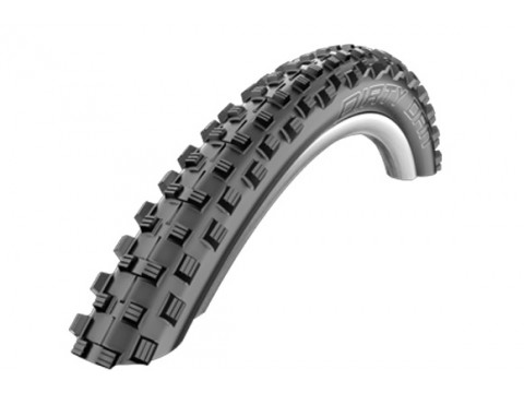 "Padanga 27.5"" Schwalbe Dirty Dan HS 417, Evo Wired 60-584 Black"