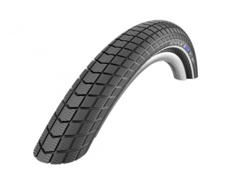 "Padanga 26"" Schwalbe Big Ben HS 439, Perf Wired 55-559 Black-Reflex"