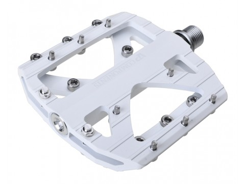 Pedalai VP-007 Alu axle CR-MO white