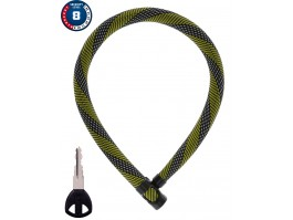 Spyna Abus IvyTex 7210/110 racing yellow