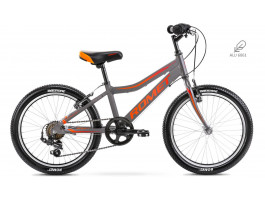 "Dviratis Romet Rambler 20"" Kid 1 Alu 2021 graphite-orange"