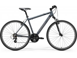 Dviratis Merida CROSSWAY 10-V 2020 matt dark grey