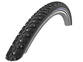 "Padanga 28"" Schwalbe Marathon Winter Plus HS 396, Perf Wired 42-622 Reflex"