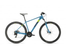 Dviratis Cube Aim 27.5 blue'n'green 2020