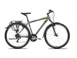 Dviratis UNIBIKE Flash EQ GTS 28 2018 graphite-green