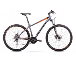 Dviratis Romet Rambler R9.1 2019 graphite-orange