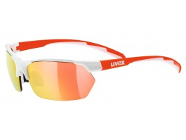 Akiniai Uvex Sportstyle 114 white orange