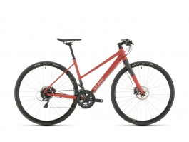Dviratis Cube SL Road Trapeze red'n'grey 2020