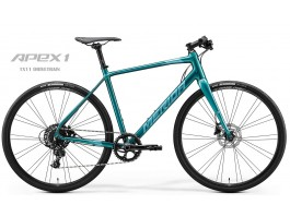 Dviratis Merida SPEEDER LIMITED 2020 glossy green-blue