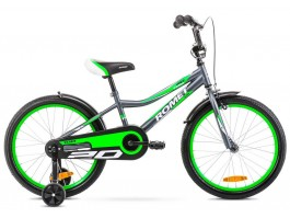 "Dviratis Romet Tom 20"" 2020 graphite-green"