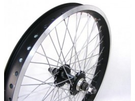"Galinis ratas BMX 20"" 48holes black"