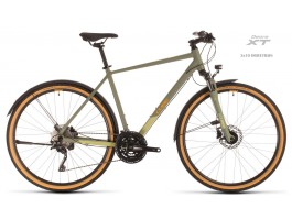 Dviratis Cube Nature EXC Allroad green'n'orange 2020