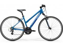 Dviratis Merida CROSSWAY 10-V Lady 2019 silk sea blue