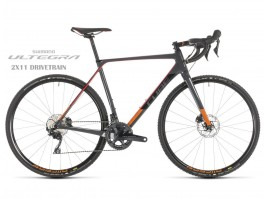 "Dviratis Cube Cross Race C:62 Pro grey""n""red 2019"
