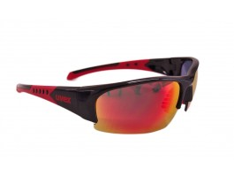 Akiniai Uvex Sportstyle 217 black red