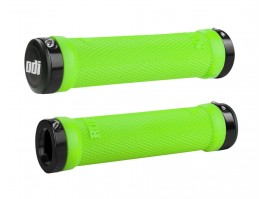 Vairo rankenėlės ODI Ruffian MTB Lock-On Bonus Pack Lime Greeen/Black