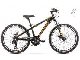 "Dviratis Romet Rambler Dirt Alu 24"" 2020 black-orange"