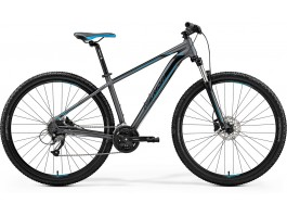 Dviratis Merida BIG.NINE 40-D 2019 matt dark silver