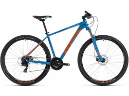 "Dviratis Cube Aim Pro 27.5 2018 blue""n""orange"