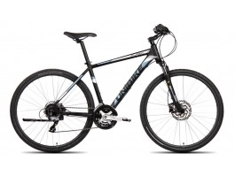 Dviratis UNIBIKE Flash GTS 28 2019 black-graphite