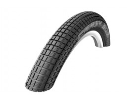 "Padanga 20"" Schwalbe Crazy Bob HS 356, Perf Wired 54-406 Black"