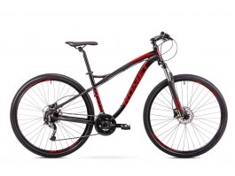 "Dviratis Romet Rambler Fit 29"" 2019 black-red"