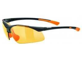 Akiniai Uvex Sportstyle 223 black orange