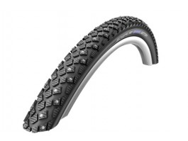 "Padanga 28"" Schwalbe Marathon Winter HS 396, Perf Wired 50-622 Black-Reflex"
