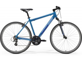 Dviratis Merida CROSSWAY 10-V 2019 silk sea blue