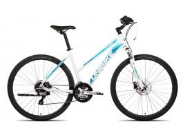 Dviratis UNIBIKE Flash LDS 28 2019 white-blue