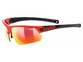 Akiniai Uvex Sportstyle 224 red black