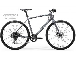 Dviratis Merida SPEEDER LIMITED 2020 matt anthracite