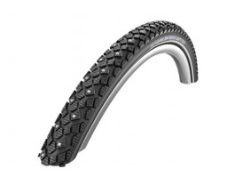 "Padanga 28"" Schwalbe Winter HS 396, Active Wired 30-622 Black-Reflex"