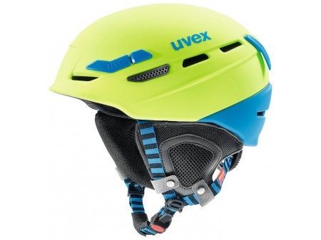 Šalmas Uvex p.8000 Tour lime-blue mat