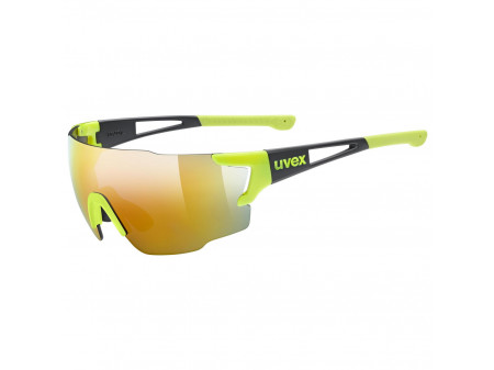 Akiniai Uvex Sportstyle 804 yellow black / mirror yellow