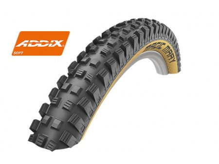 "Padanga 27.5"" Schwalbe Magic Mary HS 447, Evo Fold. 60-584 Grav Addix Soft Classic-Skin"