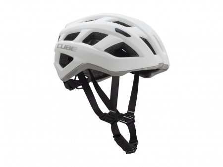 "Šalmas Cube Road RACE white""n""grey"