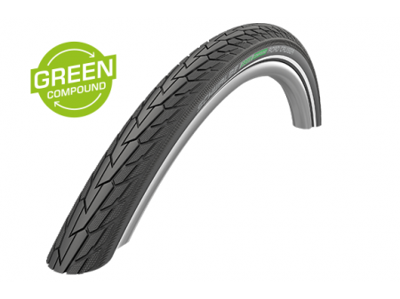"Padanga 28"" Schwalbe Road Cruiser HS 484, GreenCompound 42-622 Reflex"