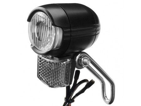 Priekinė lempa X-Light 1LED 60Lm dynamo w/ steady light