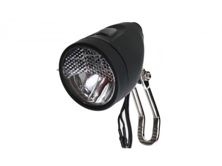 Priekinė lempa X-Light 3W 20 LUX 1LED dynamo ON/OFF