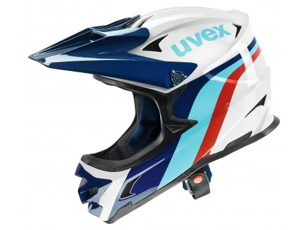 Šalmas Uvex HLMT 10 bike white-blue