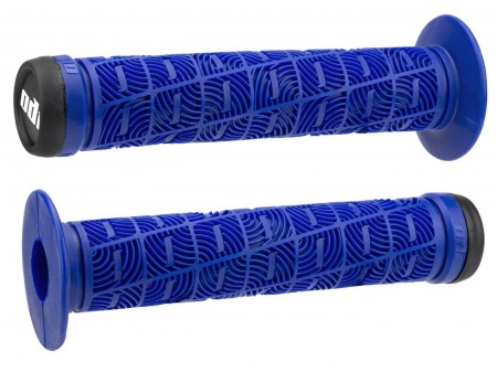 Vairo rankenėlės ODI O Grip BMX 143mm Single Ply Bright Blue