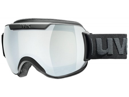 Akiniai Uvex Downhill 2000 black mat / mirror silver-clear