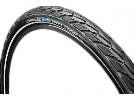 "Padanga 28"" Schwalbe Range Cruiser HS 457, Active Wired 37-622 Black-Reflex"