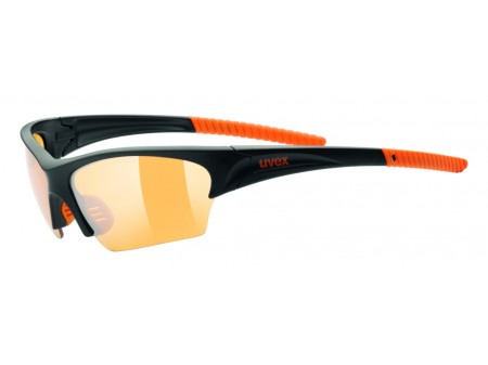Akiniai Uvex Sunsation black mat orange