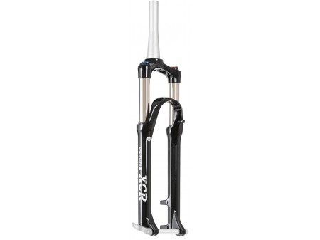 "Šakė SR Suntour XCR 32 Air RLR DS 27.5"" 100mm Tapered 9x100mm black"